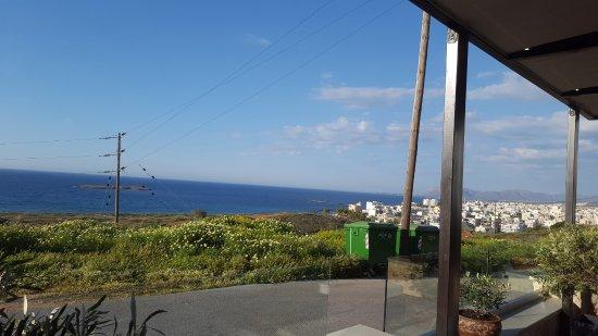Parigoria, Yunanistan: View from the restaurant patio
