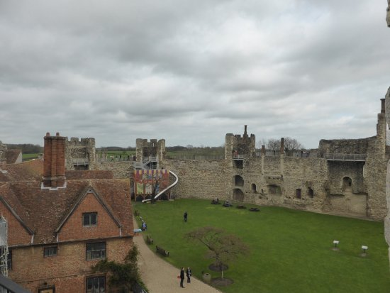 Framlingham, UK: Inside The Castle With the Slide