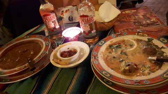 Pueblo: Очень острый суп