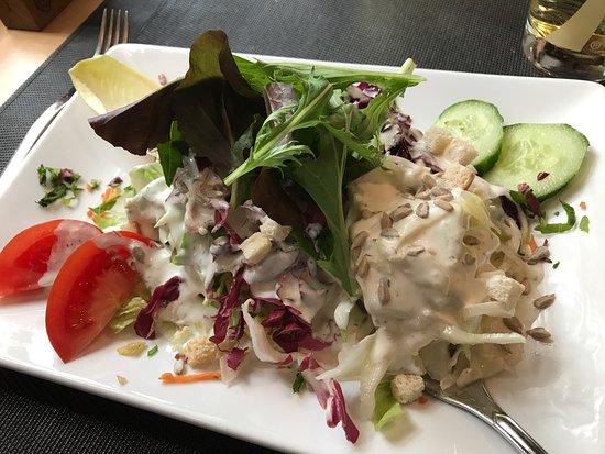 Lörrach, Deutschland: Mittagessen. Mega fein gewesen.
