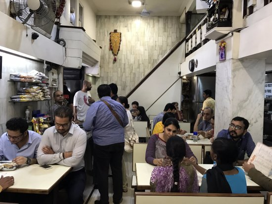 Cafe Madras: Inside the restaurant