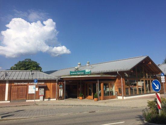 Tegernsee, Deutschland: Eingang zur Sauna