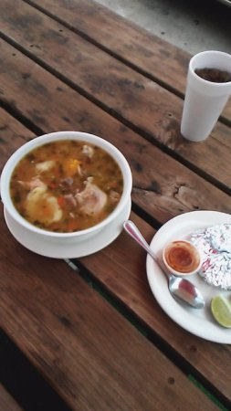 Canton, GA: Chicken and beef soup
