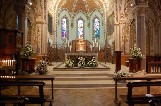 Gallarate, Italie : Interno della chiesa monastica
