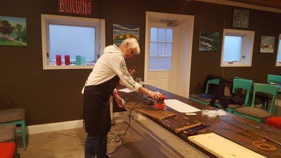 The Farmhouse Paint Sip Cafe Bar Milwaukee Wi