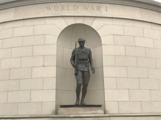 Charleston, Virginia Occidental: Statue for WWI
