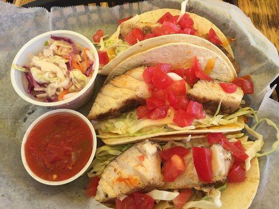Micco, FL: Cobia Fish Tacos