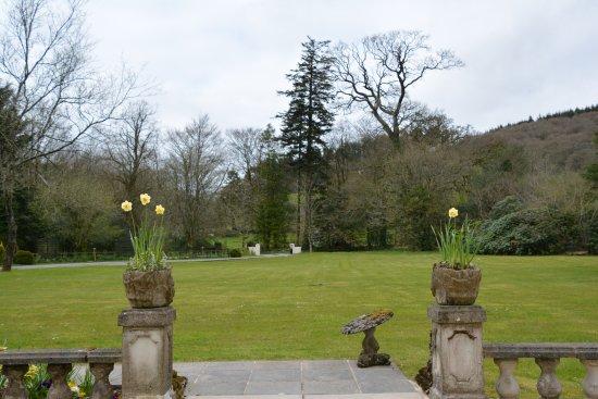 Llanllawddog, UK: The Front Garden