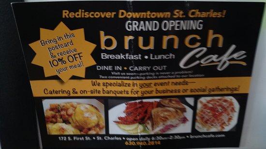 Saint Charles, IL: Brunch Cafe