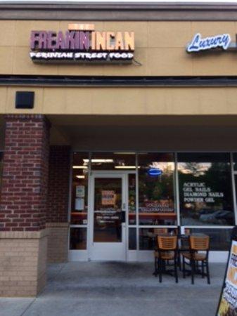 Roswell, GA: 店の入り口
