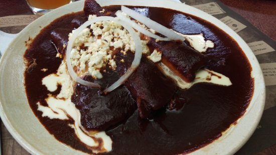 TierrAdentro : Enchiladas con Mole