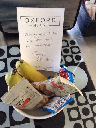 """Oxford House: Recebemos este """"mimo"""" na véspera da Maratona de Cape Town"""