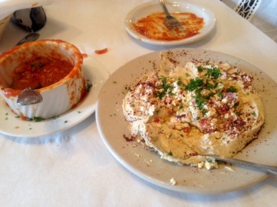 Hummus & More: Hummus, MOUSAKA