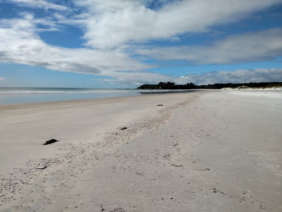 Kaitaia, New Zealand: Pristine beach