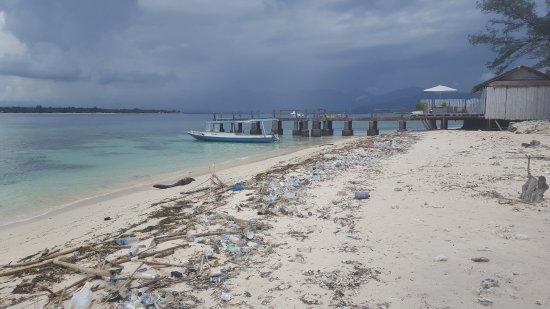 Gili Meno, Indonesia: Strand Insel Meno