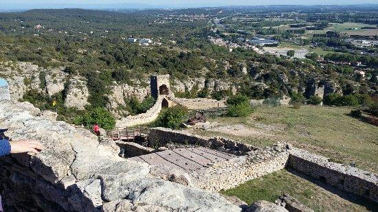 Mornas, France: Visite animé de la forteresse.