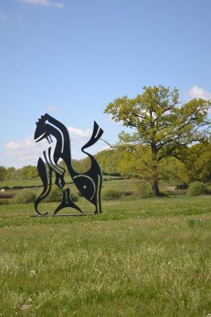 Sculpture Park Engelbrecht : Eléphant