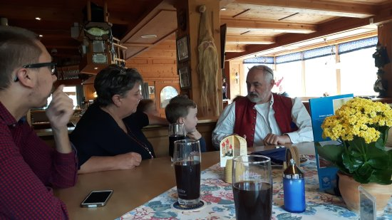 Restaurant Magic restaurant Zauberstubn Oberammergau: 20170422_130054_large.jpg