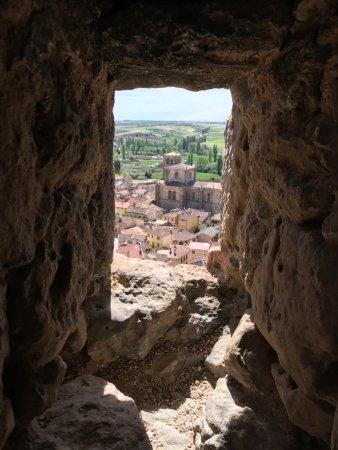 Penaranda de Duero, Spain: Vistas del municipio desde el castillo.