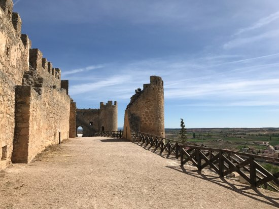 Penaranda de Duero, Spain: Dentro del Castillo.