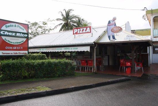 Riviere-Salee, Martinica: Restaurant hyper accessible