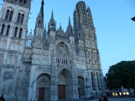 picture of cathedrale notre dame de rouen rouen tripadvisor. Black Bedroom Furniture Sets. Home Design Ideas