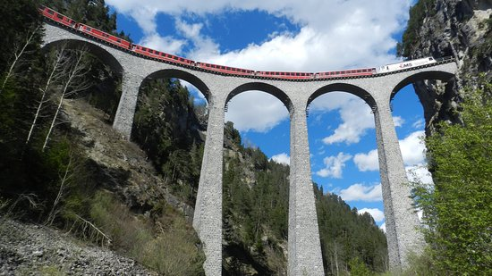 Landwasser Viaduct, near Filisur