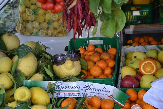 Cuomo Limo - Amalfi Coast Driver : Giant lemon