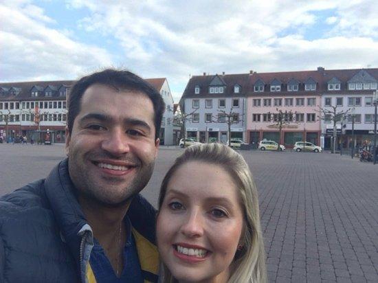 Hanau, Germany: praça
