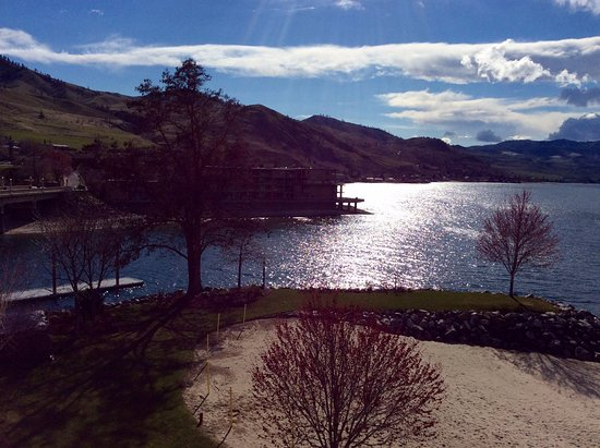 Campbell's Resort on Lake Chelan: View from our 4th story room.