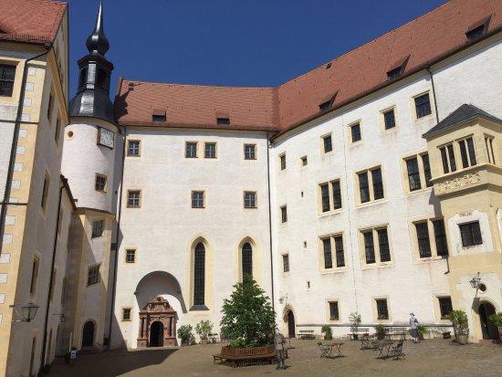 Colditz Castle: Courtyard