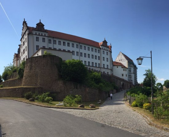 Colditz Castle: Colditz from a distance