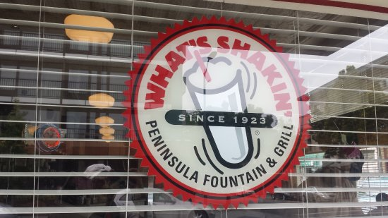 Palo Alto Creamery Fountain & Grill : A new name? Look for this in the windows and you have found it