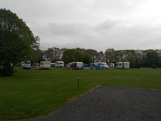 Hanley Swan, UK: Blackmore Camping And Caravanning Club Site