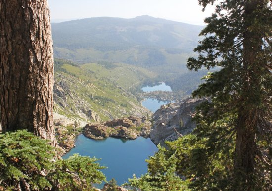 Sierra City, CA: Hiking to Sierra Buttes, Young American Lake, Upper Sardiene Lake, & Lower Sardiene Lake.
