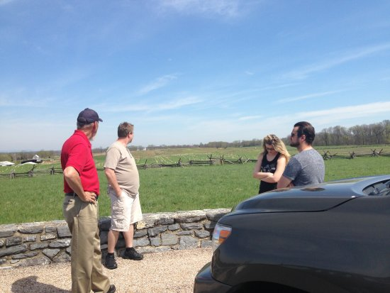 R.C.M History Tours: At the Bloody Cornfield with Bob
