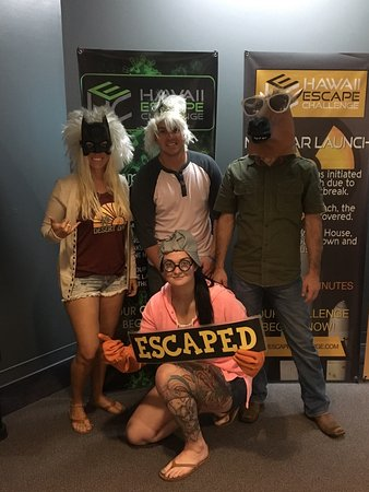 Hawaii Escape Room Pearlridge