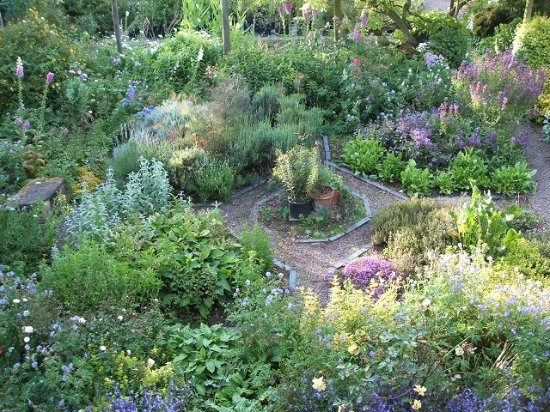 Bromyard, UK: The Herb Garden.