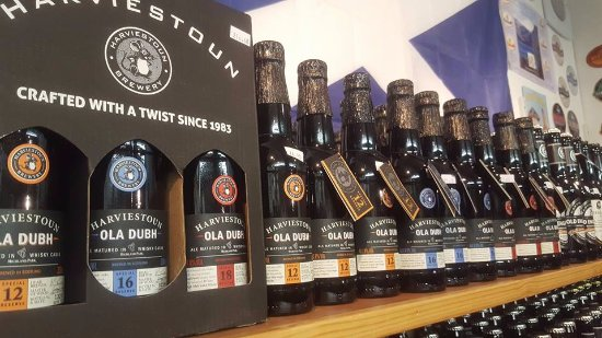 Scottish Real Ale Shop: Harviestoun Brewery