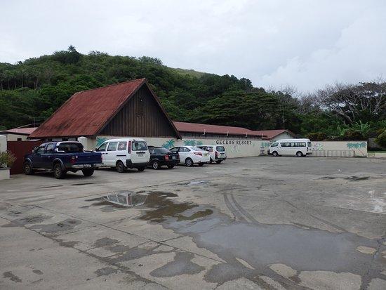 Gecko's Resort: Parcheggio