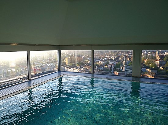 Pool view picture of swissotel zurich zurich tripadvisor - Oerlikon swimming pool ...