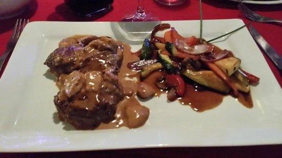 le Caveau: Delicious dinner