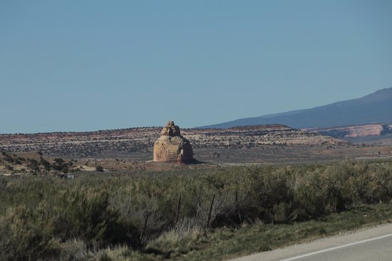Church Rock - 7 miles north of Monticello, Utah