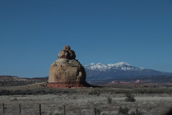 Church Rock near Monticello, Utah