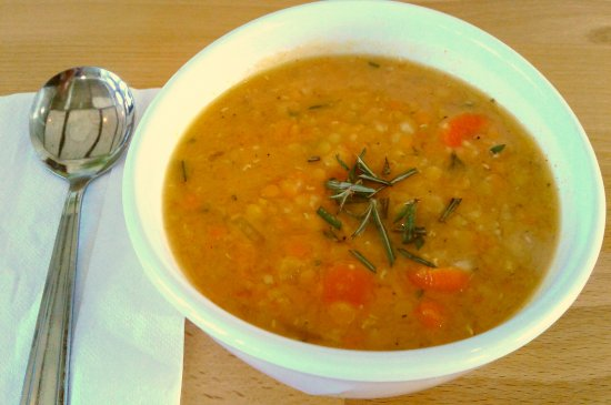 ‪‪Burien‬, واشنطن: Rosemary Lemon Lentil Soup‬