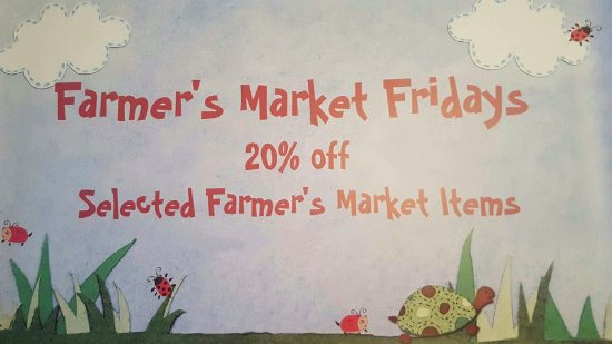 Burien, WA: 20% off Select Items every Friday