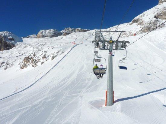 Sudtirol, Itália: La salita verso il Vallon sotto al Piz da Lech