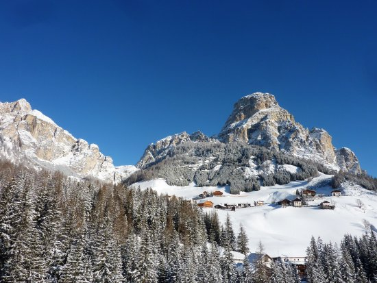 Province of South Tyrol, Italia: Il Sassongher, sopra Col Pradat