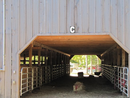 Belvidere, TN: Covered stalls