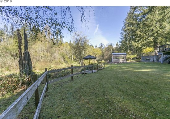 Battle Ground, WA: Large yard area to play or relax.